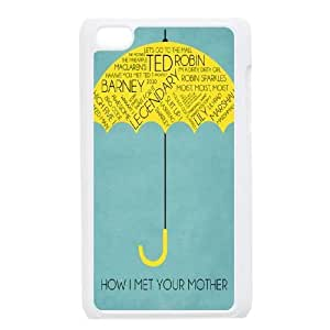 Custom Cover Case for iPod touch4 w/ How I Met Your Mother image at Hmh-xase (style 11)