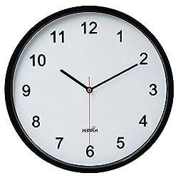 Hippih 10 Silent Quartz Wall Clock with Glass surface Non-ticking Digital,CL-2315-D