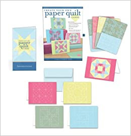 create your own paper quilt cards everything you need to make 16