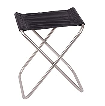 keith titanium folding chair camping chair only 247g amazon co uk