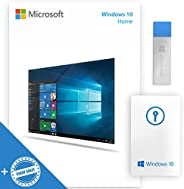 BUNDLED WINDOWS10 HOME USB 64-32 bit USB Flash Drive & ONLINE KNOW HOW CHEAT SHEET | English Language Full