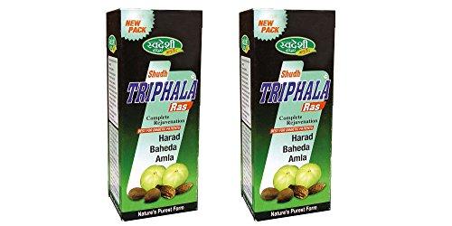 Pack of 2 - Swadeshi Shudh Triphala Ras - Complete Rejuvenation - 500ml by Swadeshi Ayurved Pharmacy