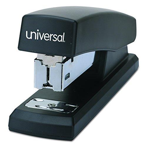 (Universal 43119 Economy Half-Strip Stapler, 20-Sheet Capacity, 2