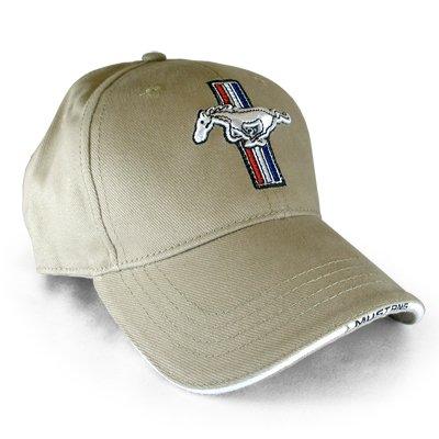 Ford Mustang Logo Beige Baseball - Beige Logo Baseball