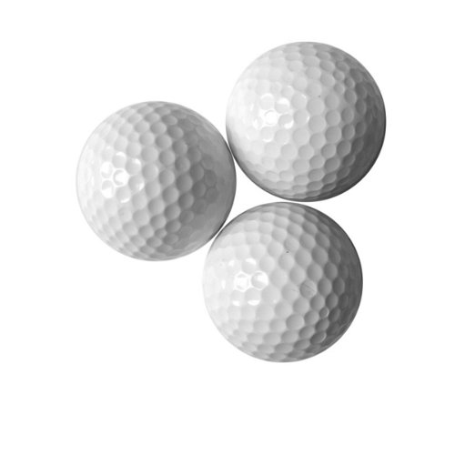 Wotefusi New Brand Mens Golf Practice Balls Of Double-Layer White With Qty 600 by Wotefusi (Image #1)