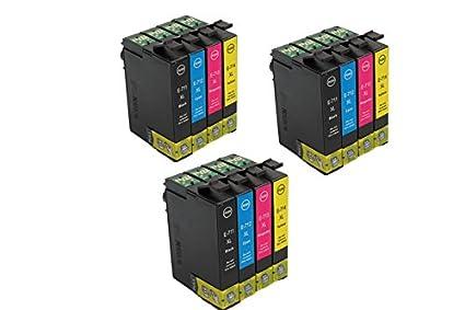 Oro prinker 12 unidades de tinta compatibles con cartuchos Epson ...