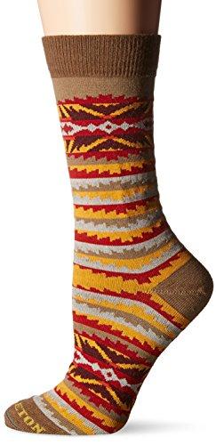 Pendleton Women's Lahaina Wave Crew Socks, Sand/Beige, - Shops In Lahaina