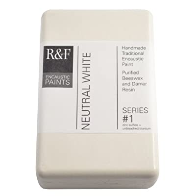 R&F Encaustic 333ml Paint, Neutral White