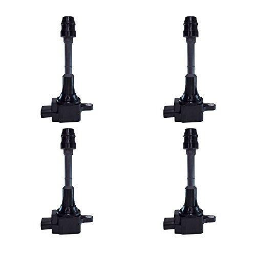 Ignition Coil Kit Set of 4 for Nissan Altima Sentra 2.5L fits UF-350 / UF350 / 224488H315