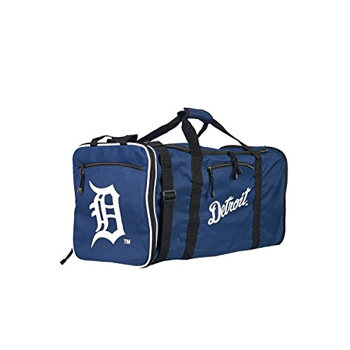 Officially Licensed MLB Detroit Tigers Steal Duffel Bag, 28