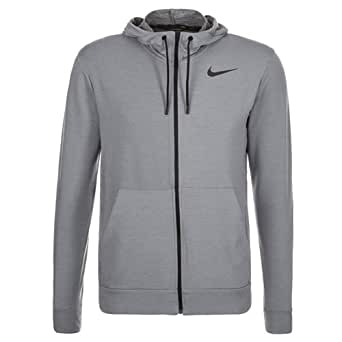 8abeb5518c8d NIKE Men s Dri-Fit Fleece Full-Zip Training Hoodie at Amazon Men s Clothing  store