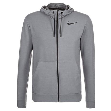 Nike Dri Fit, Felpa sportiva con cappuccio, da uomo, in pile, Uomo