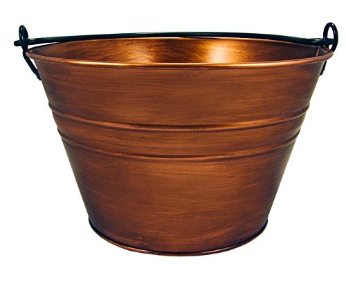BREKX Old Tavern Copper Finish Antique Ice & Wine Bucket - Bronze (Gold Tub Drink)