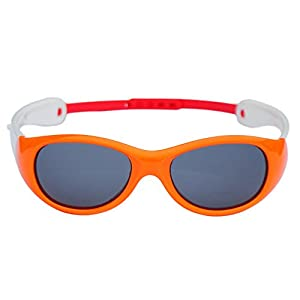 NorthStores Boys Girls Kids 0-3 Years Old Toddler Polarized UV Protection Sunglasses NSS0701 (orange)