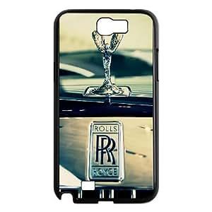 Samsung Galaxy N2 7100 Black Rolls Royce Phone Case Delicate Classic Interesting Trend Beautiful WZCP5020039