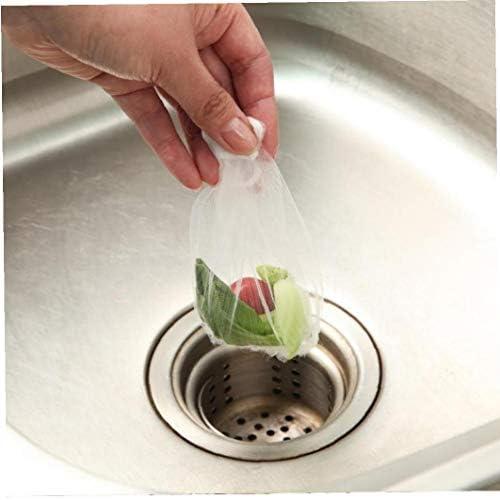 Einweg-wannen-sieb Mesh Bag Dusche Müll Lagerung Kanalisation Wasserfilter Für Home Restaurant 100pcs