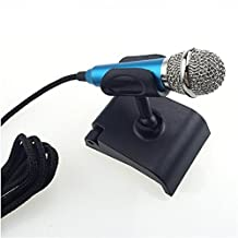 Tiny Handheld Condenser Microphone for Voice Recording, Internet Chatting on PC, Tablets, Smartphones, Laptops