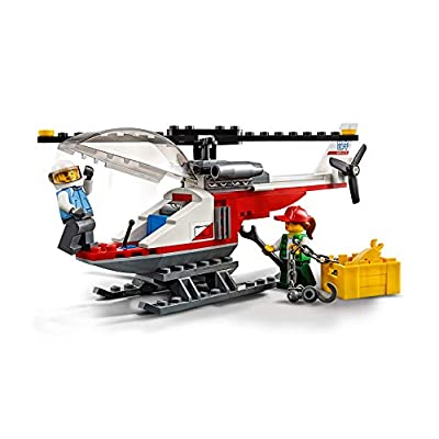 LEGO City Great Vehicles Heavy Cargo Transport Playset, Toy Truck & Helicopter, Construction Set for Kids: Toys & Games