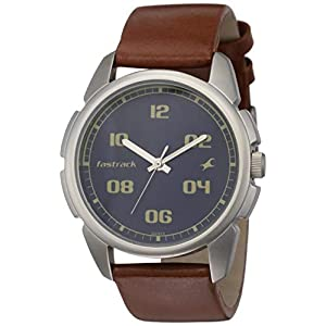 Fastrack Casual Analog Blue Dial Men's Watch NM3124SL02 / NL3124SL02