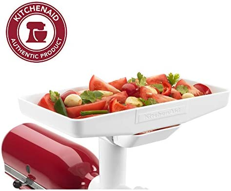 Food Tray Attachment Stand Mixer Accessory Grinder Fruit Vegetable Strainer New