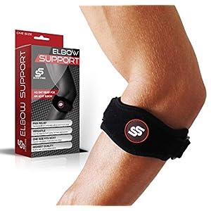 צמיד מרפק הטניס שממיס את הכאב ומגן על הזרועות שלכם מפני פציעות נוספות !