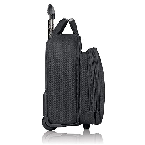 41kvtJaO9DL - Solo New York Bryant Rolling Laptop Bag. Rolling Briefcase for Women and Men. Fits up to 17.3 inch laptop - Black