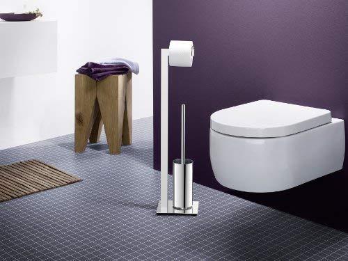 Zack 40027 Linea Toilet Butler Brush, 28.54-Inch, Grey, High Glossy Finish by Zack (Image #4)