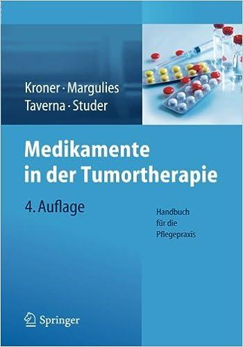 Book Medikamente in der Tumortherapie: Handbuch für die Pflegepraxis
