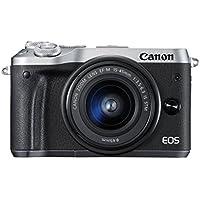 Canon EOS M6 Appareil photo hybride - Boîtier nu - Argent