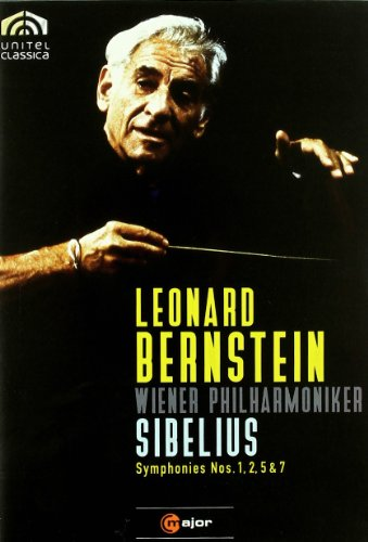 Sibelius: Symphonies Nos. 1, 2, 5 & 7 - featuring Leonard Bernstein and the Vienna Philharmonic