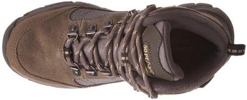 Hi-Tec Denali - Zapatillas de senderismo de cuero nobuck para mujer Marrón