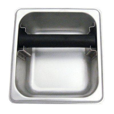 Stainless Steel Knock Box - Update International KB-164 Stainless Steel Knock Box, 4