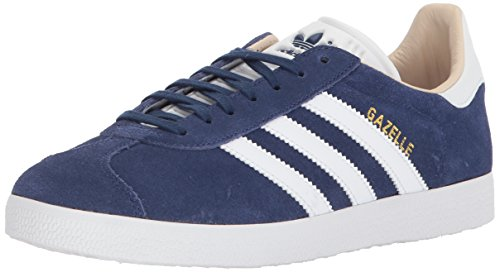 size 40 24b81 f20fd adidas Originals Women s Gazelle Shoe, Noble Indigo Footwear White Linen ,  9 M