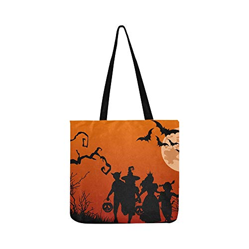 Painel Halloween G Frete Gratis Decoracao De Festa Canvas Tote Handbag Shoulder Bag Crossbody Bags Purses For Men And Women Shopping Tote