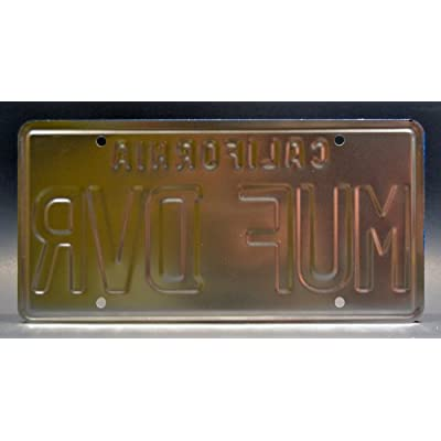 Celebrity Machines Cheech & Chong's Up in Smoke | MUF DVR | Metal Stamped License Plate: Automotive