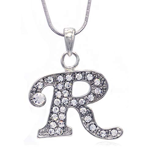 Regina George Costumes (Soulbreezecollection Initial Letter R Pendant Necklace Charm Ladies Teens Women Fashion Jewelry)