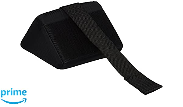 Amazon.com: Rolyan Heel Boot, Anti-Rotation Wedge, Foam Wedge for Limiting Ankle Roation, Accessory for Rolyan Heel Boot for off-loading the heel area to ...