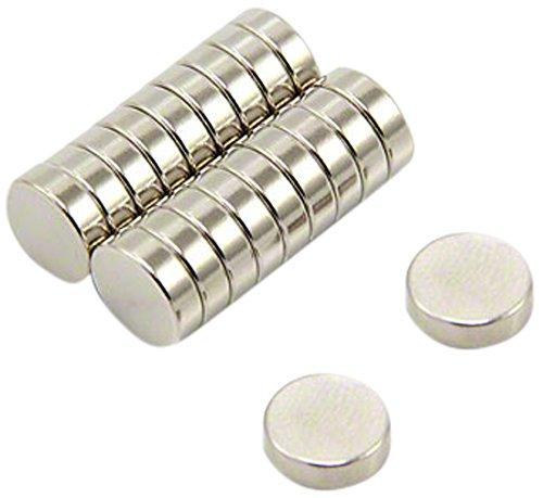 Magnet Expert® 10mm dia x 3mm thick N35 Neodymium Magnet - 1.5kg Pull ( Pack of 20 ) Magnet Expert® F671-N35-20