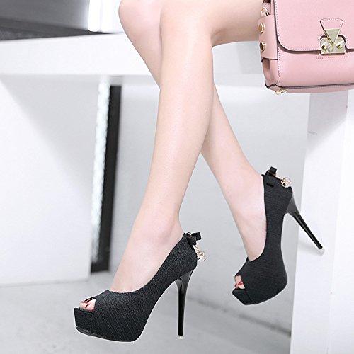el que que sexy zapatos Con lattice black solo dulce estaban con de ZHZNVX moda zapatos fueron pescado ol de boca solo celosía qwUSIwf5