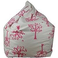 Lelbys Pink Orcahrd Bean Bag