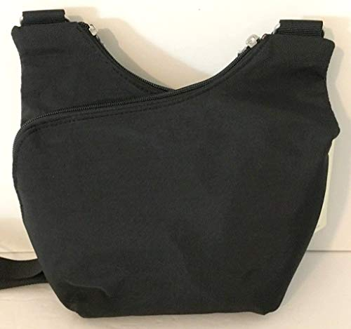 Pocket Crossbody Fabric Bag Baggallini Charcoal Crossover HqdFU8U