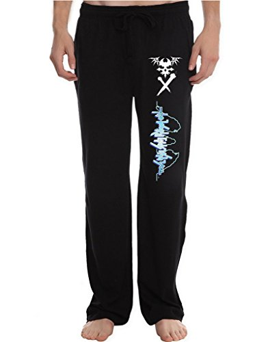 RBST Men's The World Ends With You Reaper Symbol Spray preview Running Workout Sweatpants Pants L (Kemper Boot)