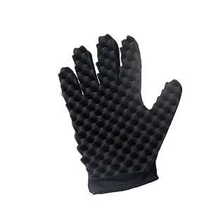 Amazon.com: Gotian - Guantes de esponja para pelo, diseño de ...