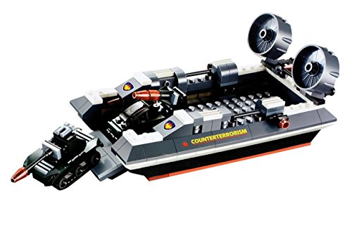 41kvxq3olkL - Planet of Toys Sea Horse Hovercraft Block Set (282 pcs) for Rs 499 (77% off)