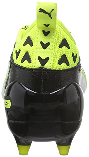 – Jr Puma Nero Yellow safety Fg Da Evotouch 01 Bambini black Unisex Scarpe white 1 Calcio xStSAqw8g
