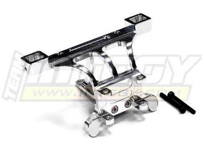 Integy RC Model Hop-ups T3257SILVER Evolution5 Front Body+Pin Mount for 1/10 Revo 3.3, E-Revo, Summit & Slayer(both)