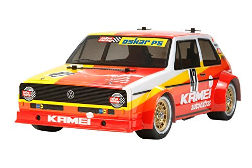 (TAMIYA 1/12 electric car Volkswagen Golf Mk.I Racing (Group 2) (M-05 chassis) 47308)