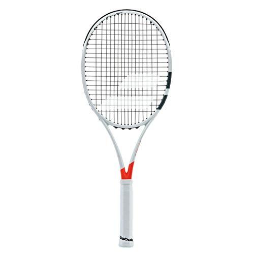 Babolat 2017 Pure Strike 16x19 Orange/White Tennis Racquet (4 1/4