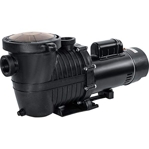 XtremepowerUS 2HP Swimming Pool Pump (Dual-Speed) 230V Pool Pump Inground Swimming SPA Pool Above/In Ground 1.5