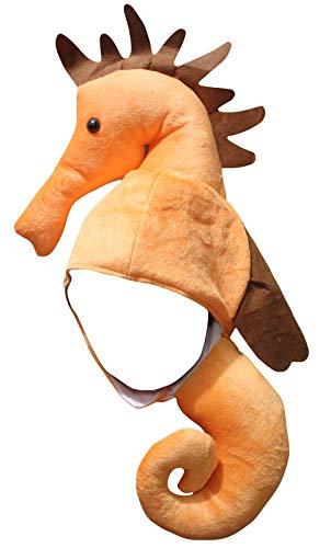 Petitebella Party Costume Hat Unisex Free Size (Seahorse)